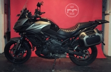 Custom Kawasaki Versys 650 for touring by Gear Gear Motorcycles