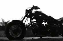 Modified Chopper Gujrat Patil Motorcycle PMS Motorcycle