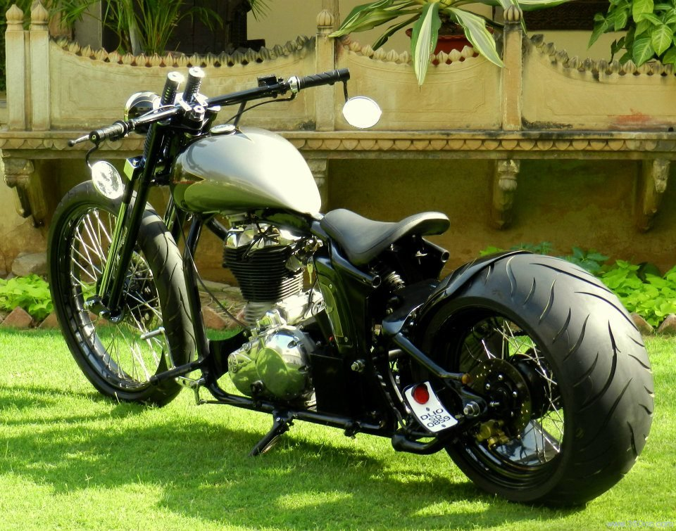 Bikes from Rajputana Custom Motorcycles in 2012
