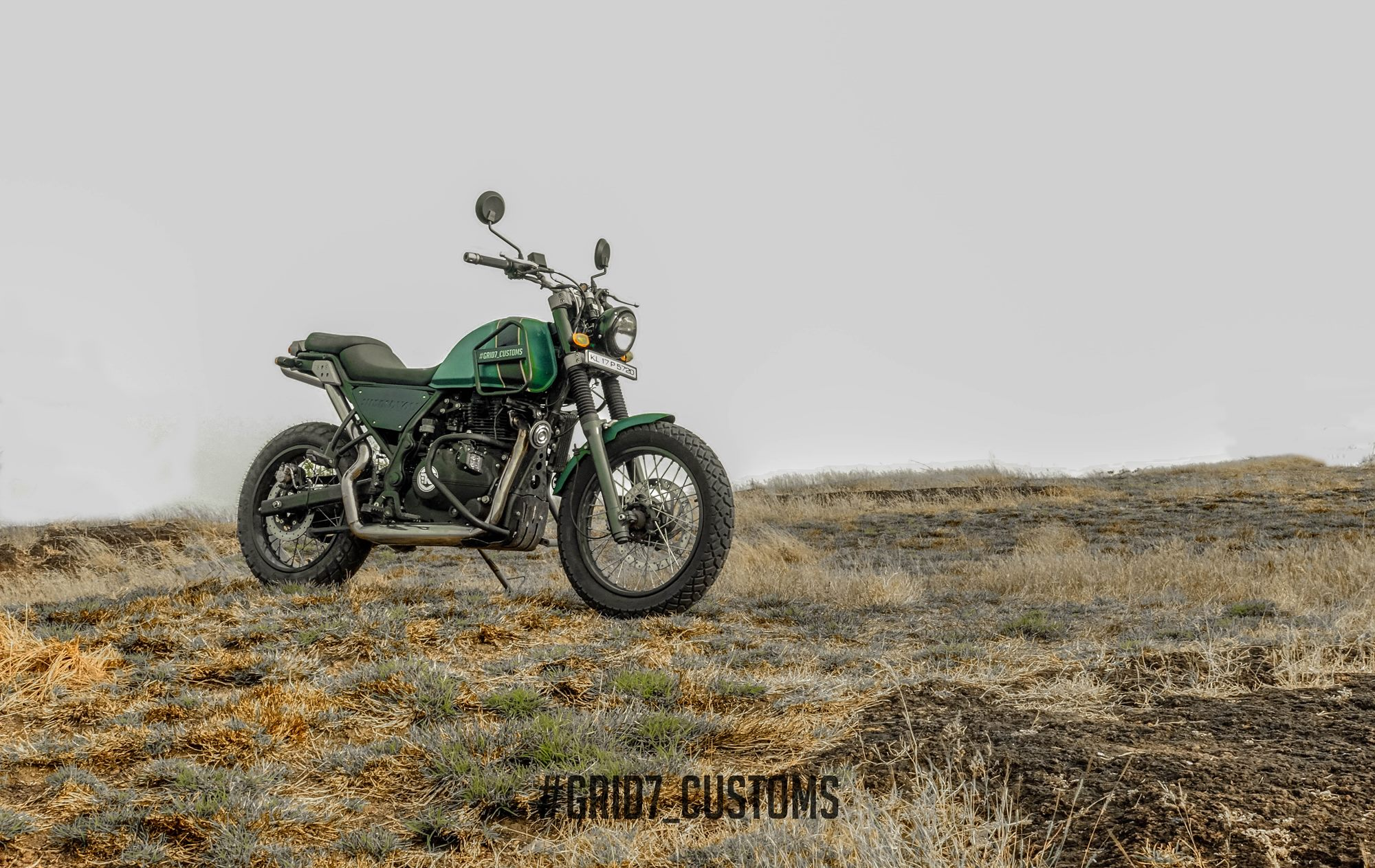 Royal Enfield Himalayan Painting GRID7 Customs