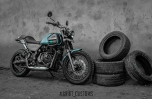 Royal Enfield Himalayan Paint Idea Green