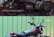 21 street racer - before after_Yamaha_RX135
