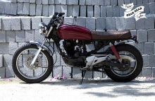 Modified Honda Karizma 220 India