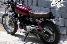 Modified Honda Karizma 220 Simple modification
