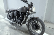 Royal Enfied Bobber Modification in India by Gear Gear Motorcycles