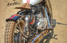 Royal Enfield beach tracker by Inline3 Custom Motorcycles