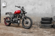 Modified Royal Enfield Himalayan redefined V2 ~ GRID7 Customs