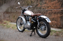 Custom Royal Enfield Trial Bullet