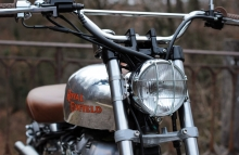 Royal Enfield Trial Motorcycle