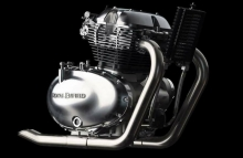 Royal Enfield 650cc Parallel Twin engine Image
