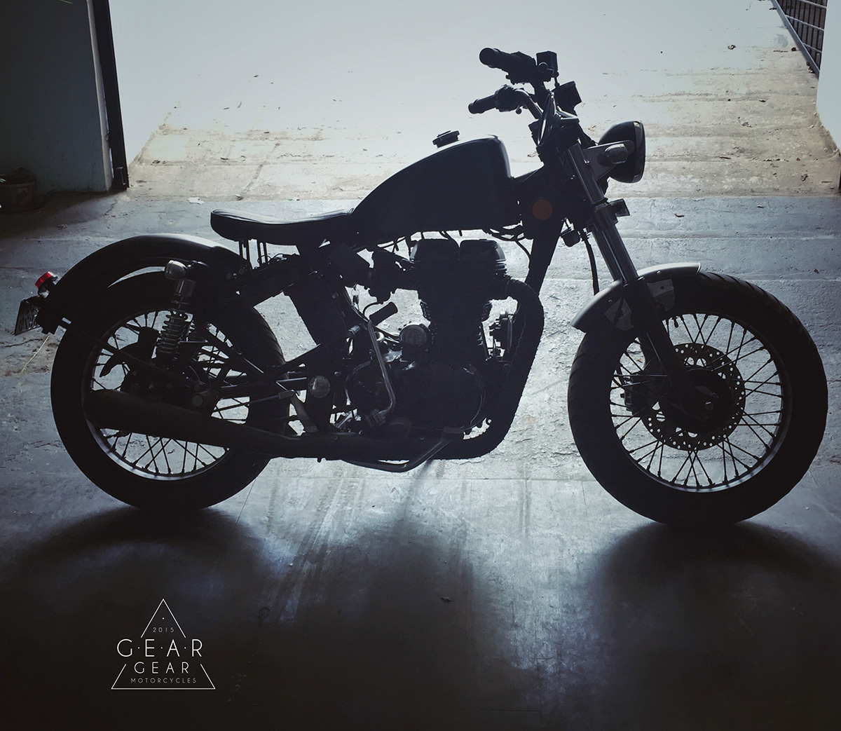 Modified Clean Bobber on Classic 350 - Gear Gear Motorcycles
