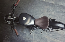 Custom Royal Enfield Modified Bobber Seat