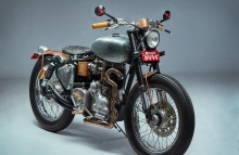 Cast Iron Royal Enfield Refurbished RS Moto