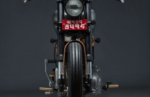 Custom Royal Enfield Old Cast Iron 350cc Modification RS Moto