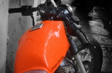Modified Pulsar 150 Cafe Racer by Furious Customs Maharashtra