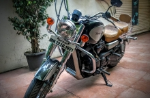 Modified Harley Davidson street 750