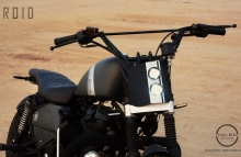 Royal Enfield Tracker motorcycle by MCBC Studio