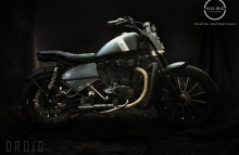 Thunderbird 350cc Tracker motorcycle by MCBC Studio