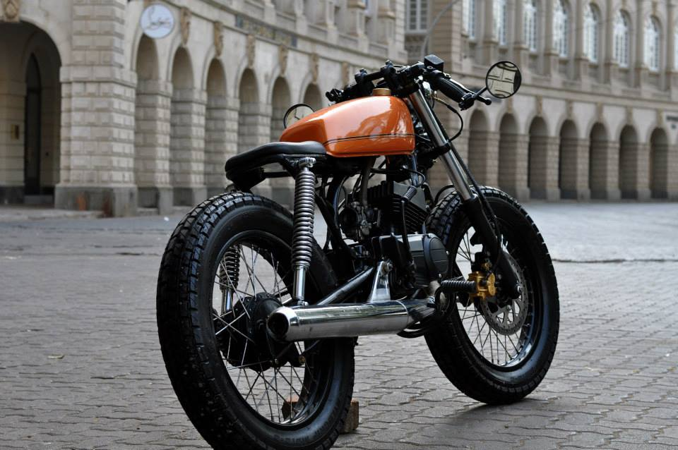 Yamaha 135 Cafe Racer by Bombay Custom Works