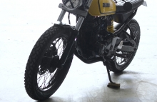 Modified Yamaha FZ Cafe Racer by Gear Gear Motorcycles