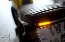 Yamaha FZ Cafe Racer Led Indicator by Gear Gear Motorcycles Modification