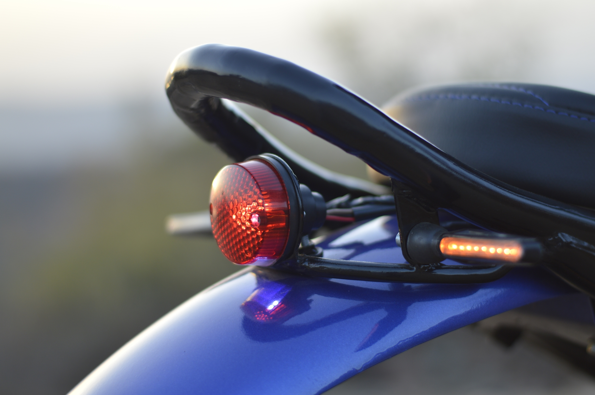 Yamaha FZ scrambler tail light