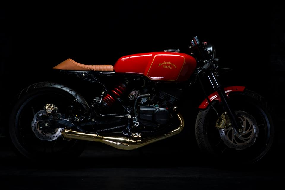 Yamaha RX-135 Cafe Racer by Bombay Custom Works