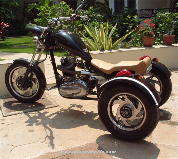 Evolution Choppers – Goa based Customizers