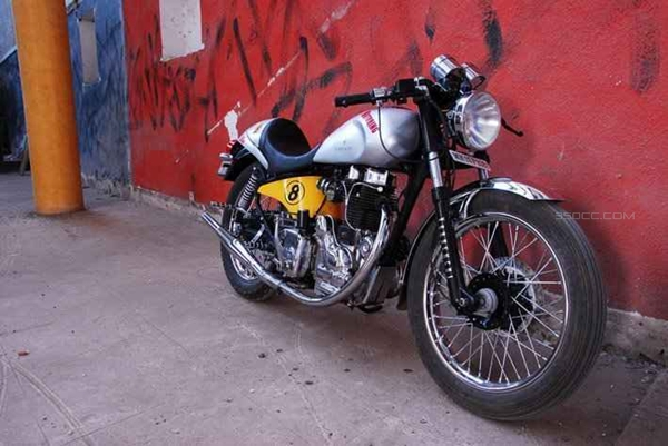 cafe racer modified by vardenchi