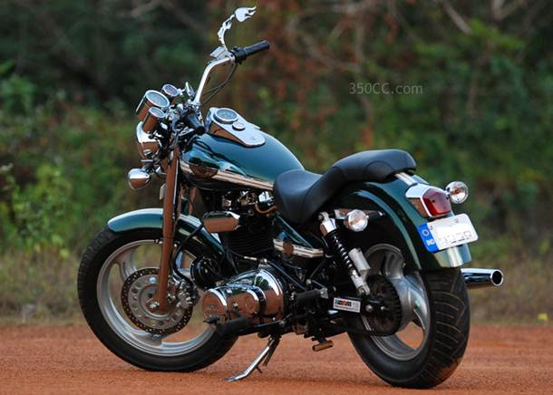 Out Risers Motorcycle- Kerala_Custom_Bike_Modification