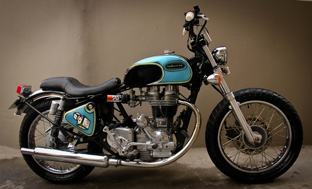 Custom-Royal_Enfield_Elecra_4S_Cafe_Racer_Mizoram_Amateur_01