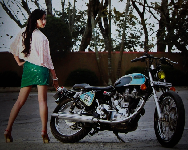 customized royal enfield bullet