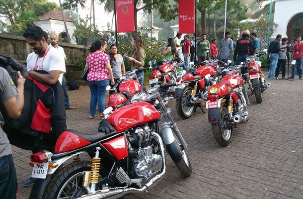 Royal Enfield Continental Gt Tagged For Rs 205 Lakh Delhi On Road