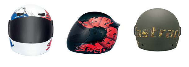 c455dff0 Apart from Guy's helmets, Fastrack helmet for girls comes with a teal  Fastrack stamp graphic and just the right amount of attitude!