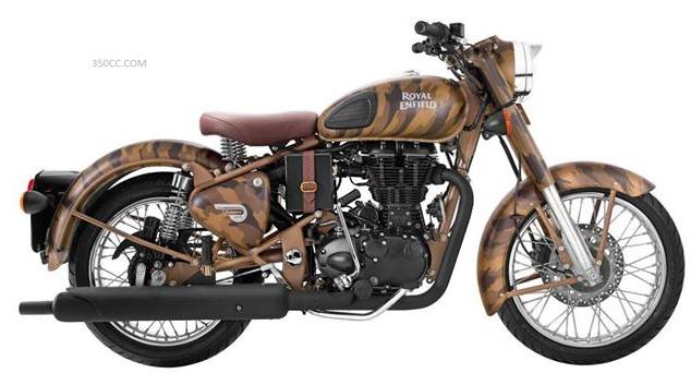 Royal Enfield to launch limited edition camouflage Desert Storm Despatch 500