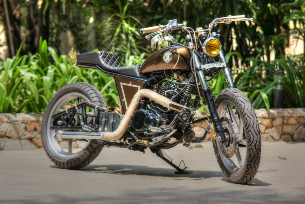Brat-Bob Styled Bike India