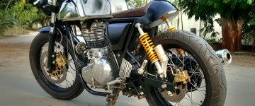 Modified Royal Enfield Continental GT J&D Custom Co