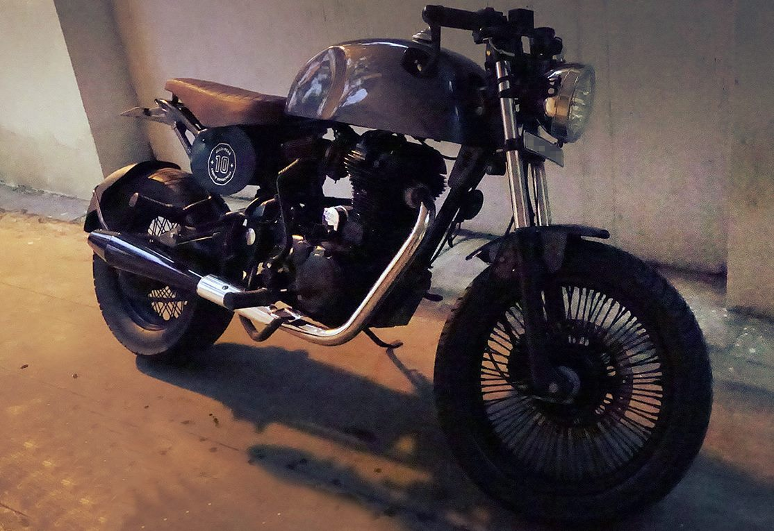 Royal Enfield Thunderbird Cafe Racer by Gear Gear Motorcycles