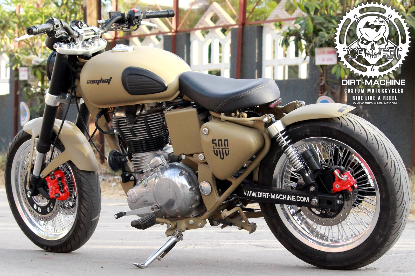 Modified Desert Storm With Rear Disk Brake Dirt Machine