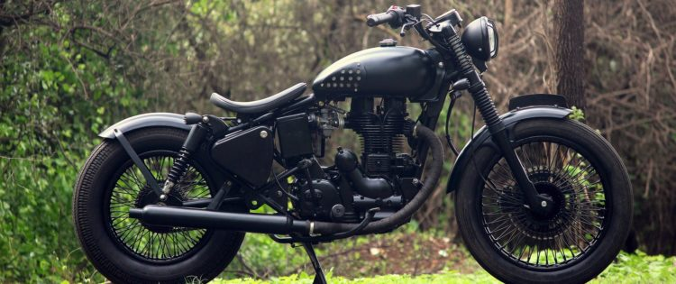 Cast Iron Electra 350cc redefined by Jedi Customs