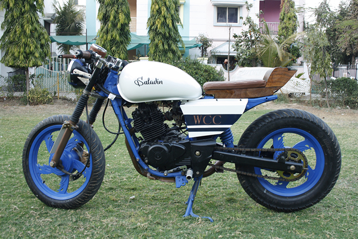 Saladin A Cafe Racer By Walled City Customs