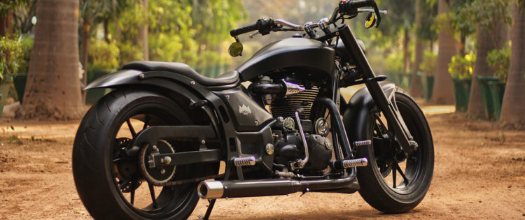 Royal Enfield Low ride Cruiser by xLnc Customs
