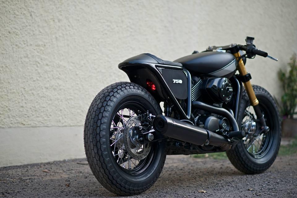 Harley Davidson Street 750 Cafe Racer Rajputana Customs