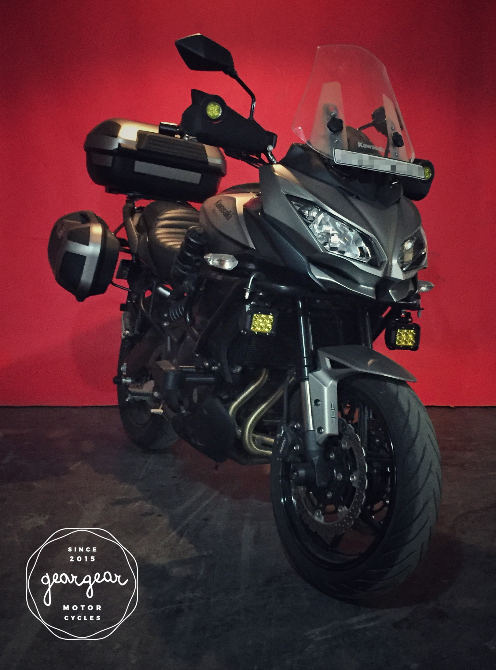 Photo Custom Kawasaki Versys 650 For Touring By Gear