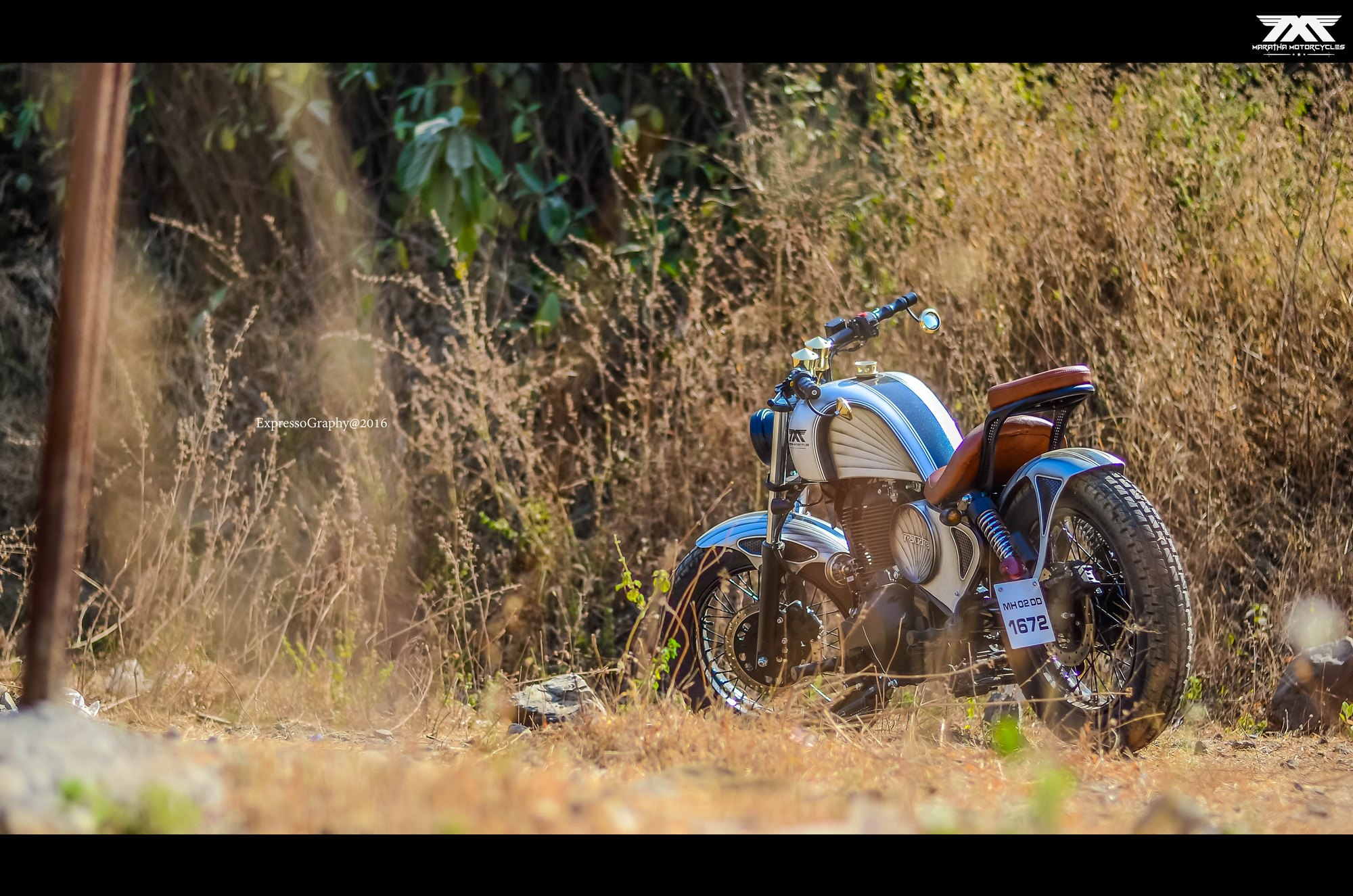 Raudra Custom Royal Enfield Thunderird By Maratha