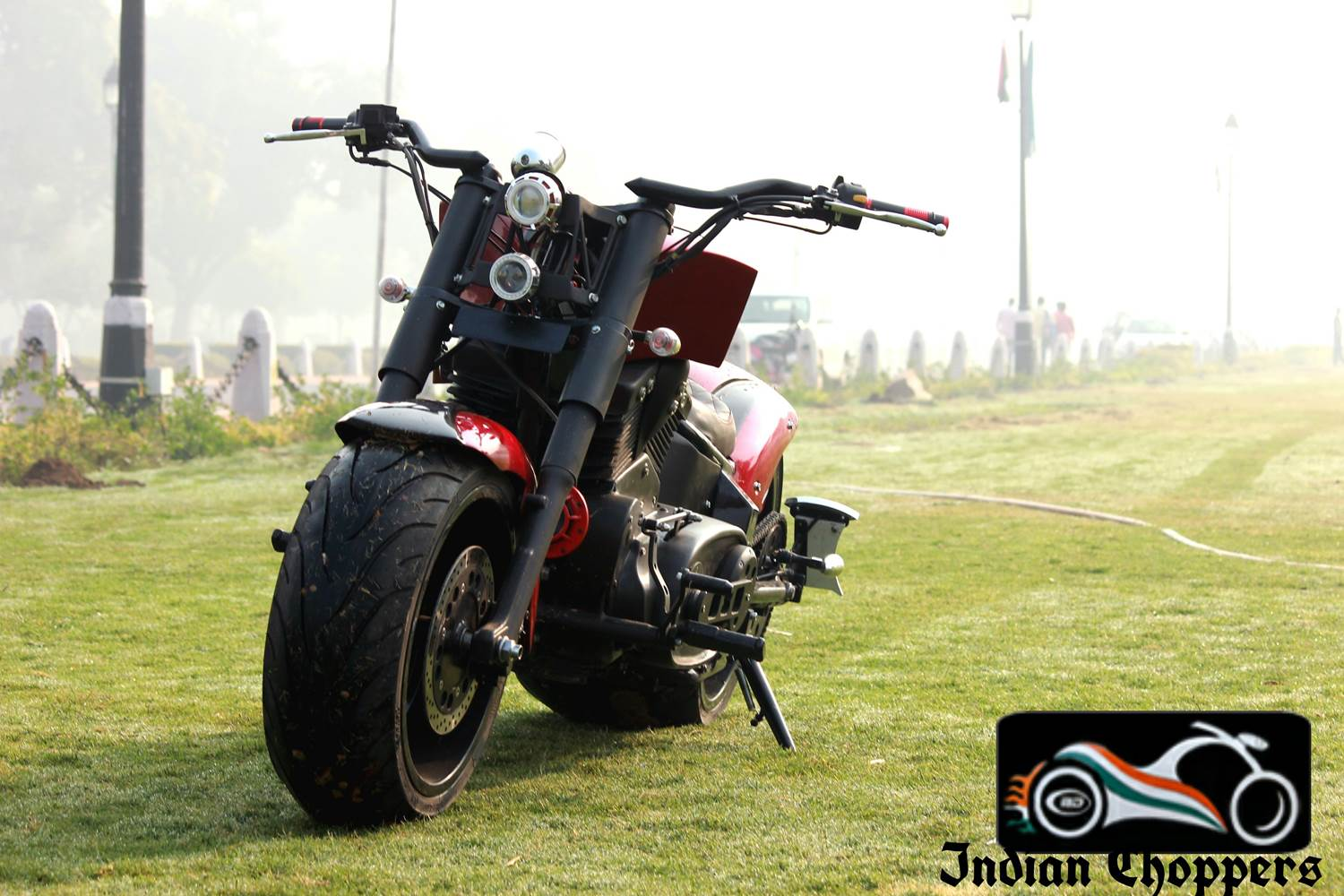 rouge with dummy v-twin