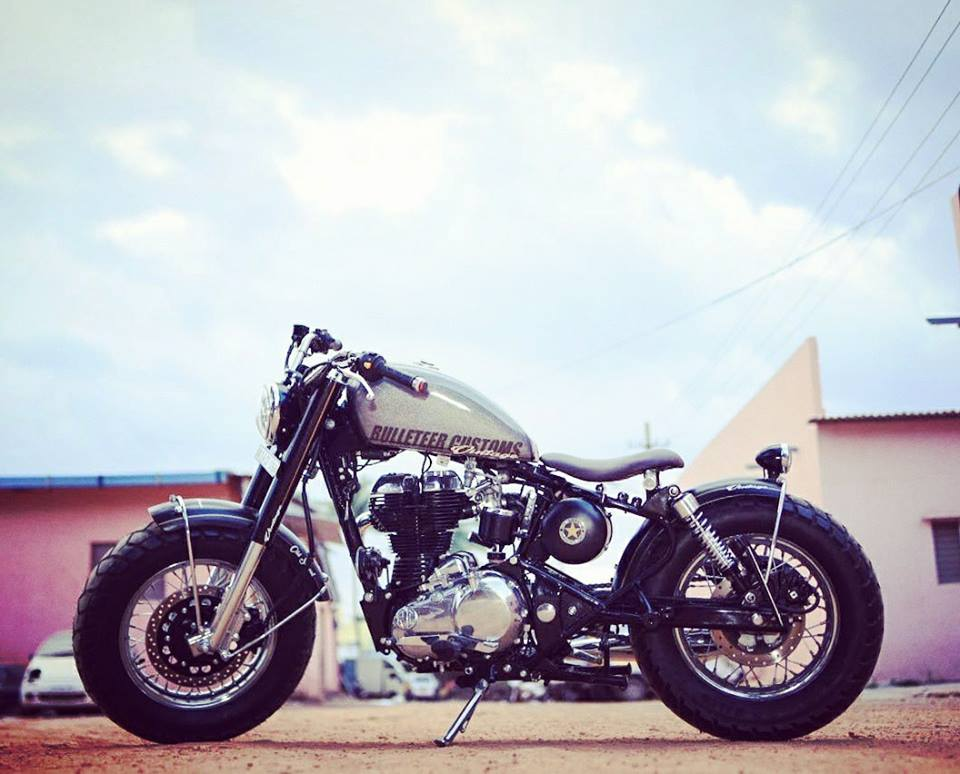 Royal Enfield 350cc Bobber By Bulleteer Customs