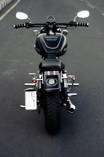 Shaurya Royal Enfield Customised For Cop Mumbai 350cc Com